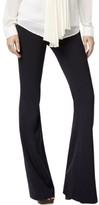 MICHAEL Michael Kors Womens Slim Fit Flare Leg Trouser Pants