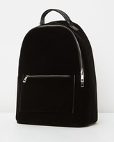 Aldo Decosmo Velvet Backpack