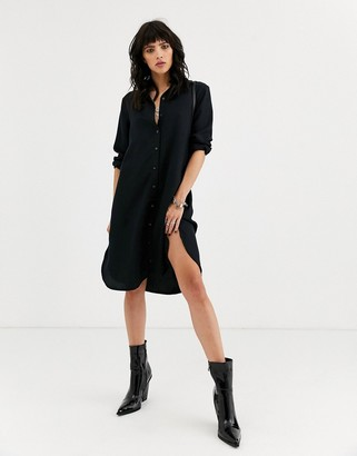Object shirt mini dress