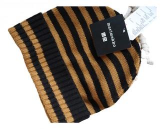 Marimekko Beige Wool Hats