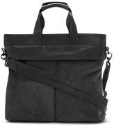 Vince Camuto Men's 'Surbo' Suede Tote Bag - Black