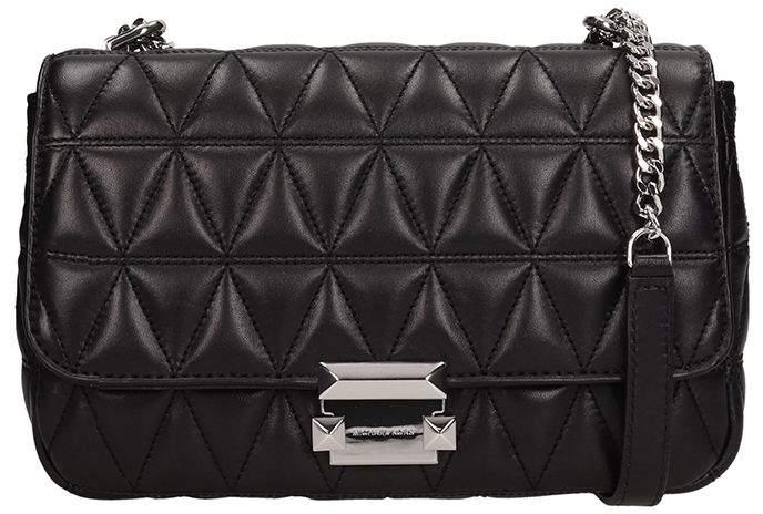 68e7a7c01e80 Michael Kors Sloan Leather Bag - ShopStyle