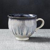 Crate & Barrel Alice Blue Mug
