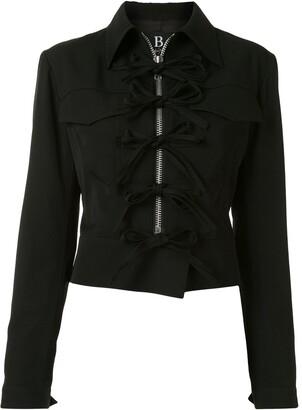 Yohji Yamamoto B/Buddha fitted jacket