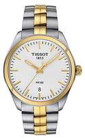 Tissot T1014102203100 Pr 100 Date Two Tone Bracelet Strap Watch, Silver/gold
