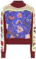 Diane von Furstenberg Wool-blend and silk sweater