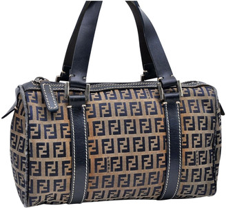 Fendi Navy Leather Handbags