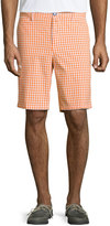 Neiman Marcus Fancy Gingham Shorts