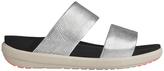 FitFlop Loosh Slide Silver Sandal