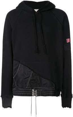 Greg Lauren patchwork hoodie