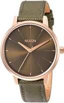 Nixon Women's The Kensington Leather X Lux Life Collection