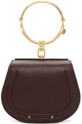 Chloé Purple Small Nile Bracelet Bag