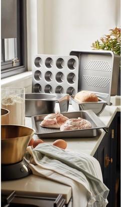 Master Class Vertical Stacking 3 PieceBakeware Set-Muffin Tray, Cake Tin andLoaf Tin