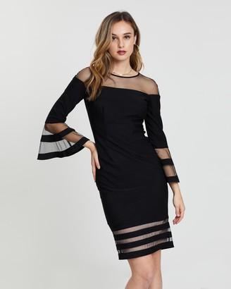 Montique Manhattan Bell Sleeve Dress