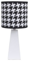 NoJo Houndstooth Lamp & Shade - Roar