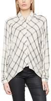 Wrangler Women's Loose Shirt Ivory Blouse