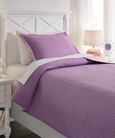 Signature Design by Ashley Lavender & Pink Dansby Reversible Coverlet Set
