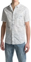 Jachs Print Shirt - Short Sleeve (For Men)