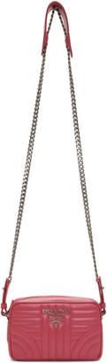 Prada Pink Diagramme Crossbody Bag