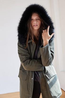 Velvet by Graham & Spencer Tiffany Lux Fur Lined Parka