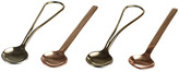 Just Slate Gold & Copper Spoons Set of 4