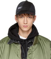 Vetements Black Reebok Edition Reworked Cap