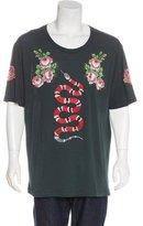 Gucci Snake Appliqué T-Shirt