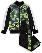 Puma Boys' Camo & Colorblock 2 Piece Track Suit - Sizes 2T-3T