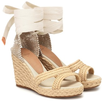 Castaner Exclusive to Mytheresa Berta raffia espadrille wedges