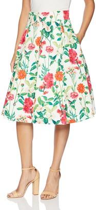 Brinker & Eliza Women's Floral Midi Skirt
