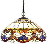 AMORA Amora Lighting AM1062HL16 Tiffany Style Baroque Pendant Lamp