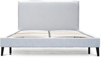 Calibre Furniture Bilson Bed King Cement Grey