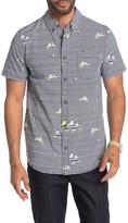 Blurred Lines Regular Fit Short Sleeve Shirt