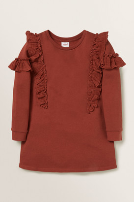 Seed Heritage Frill Terry Dress