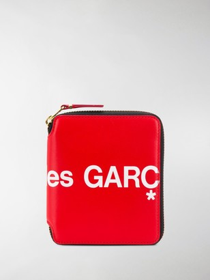 Comme des Garcons Small Logo Zip-Around Wallet
