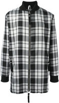 Blood Brother Trip longline bomber jacket - men - Polyester/Viscose - S
