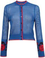 Sophie Theallet garden jacquard mesh cardigan