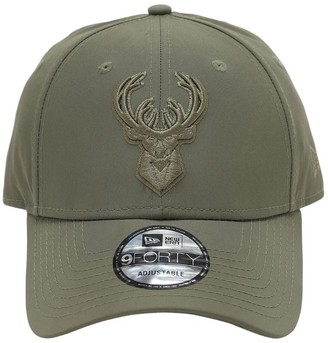 New Era Embroidered 9forty Milwaukee Bucks Cap