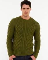 Le Château Cable Knit Slim Fit Sweater