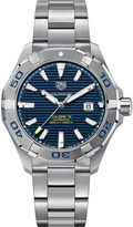 Tag Heuer Aquaracer stainless steel blue mens