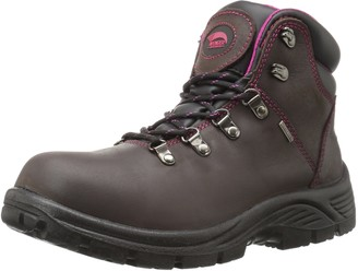 Avenger Safety Footwear Women's Avenger 7675 Leather Waterproof SR EH Hiker Industrial and Construction Shoe