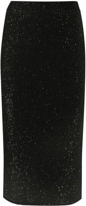 MICHAEL Michael Kors Sequin Embellished Pencil Skirt