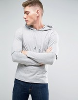 Jack and Jones Originals Hooded Long Sleeve Top