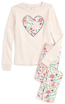 Toddler Girl's Tucker + Tate Fitted Two-Piece Pajamas