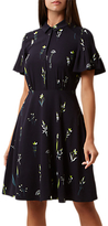 Hobbs Dale Dress, Navy