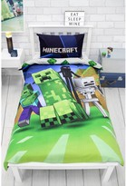 Thumbnail for your product : Minecraft Creeps Single Duvet Cover Set