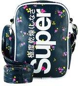 Superdry Festival, Women's Cross-Body Bag, Multicolore (Ditsy Star), 16.0x23.0x6.0 cm (W x H L)