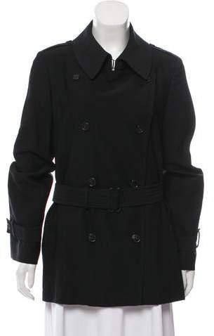 Maison Margiela Double-Breasted Short Coat