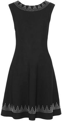 Alaia Studded Stretch-knit Mini Dress
