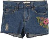 Mimi & Maggie 'Fruit Stand' Denim Shorts (Toddler/Kids) - Indigo-5